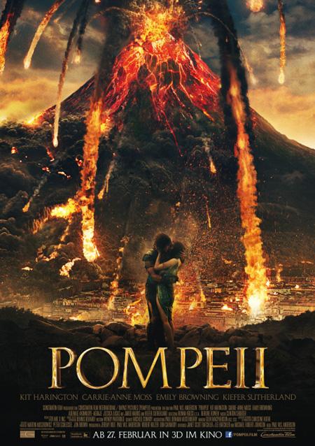 Pompeii (mit Kit Harington und Emily Browning)