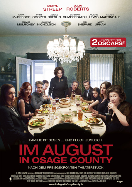 Im August in Osage County (mit Meryl Streep und Julia Roberts)