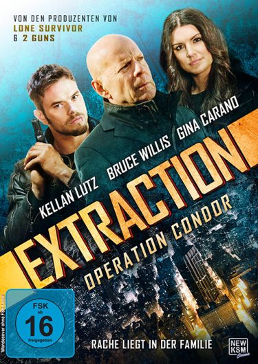 Extraction (mit Bruce Willis und Kellan Lutz)
