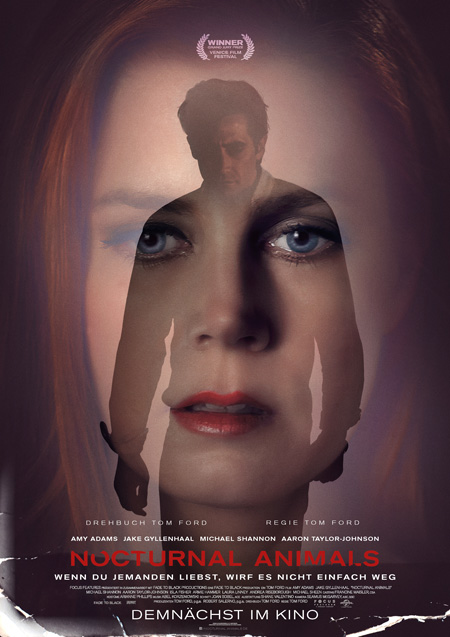Nocturnal Animals (von Tom Ford mit Amy Adams und Jake Gyllenhaal)