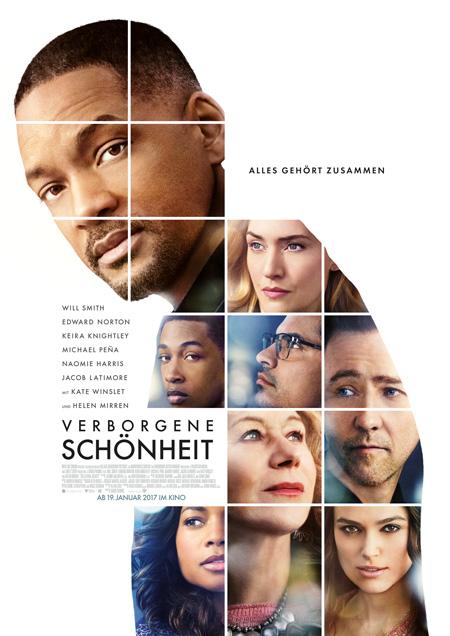Verborgene Schönheit (mit Will Smith, Helen Mirren, Keira Knightley und Michael Pena)