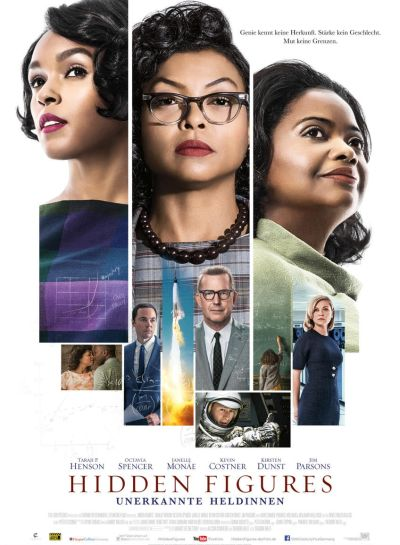 Hidden Figures (mit Octavia Spencer und Kevin Costner)