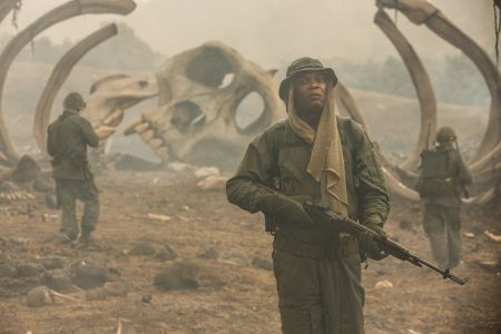 Kong: Skull Island (mit John Goodman, Tom Hiddleston, Samuel L.Jackson und John C.Reilly)