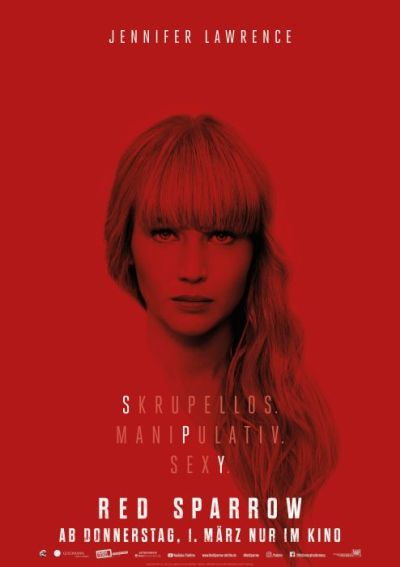 Red Sparrow (mit Jennifer Lawrence)