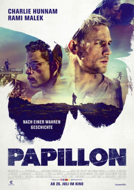 Papillon (mit Charlie Hunnam und Rami Malek)