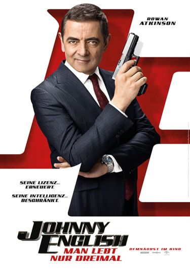 Johnny English 3 (mit Rowan Atkinson und Ben Miller)