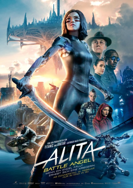Alita: Battle Angel von Robert Rodriguez
