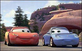 Lightning McQueen & Porsche-Lady Sally