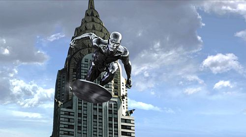 Silver Surfer goes New York...