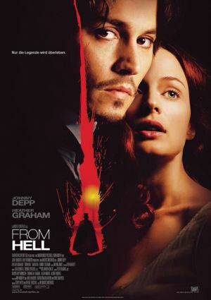 From Hell (mit Johnny Depp, Heather Graham und Ian Holm)