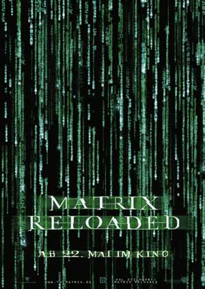 Matrix Reloaded mit Keanu Reeves und Carrie-Anne Moss