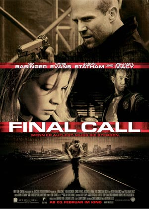 Final Call mit Chris Evans, Kim Basinger und Jason Statham