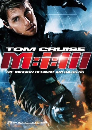 Mission Impossible 3 mit Tom Cruise