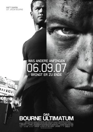 Das Bourne Ultimatum mit Matt Damon, Julia Stiles und Joan Allen