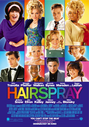 Hairspray mit John Travolta, James Marsden und Queen Latifah