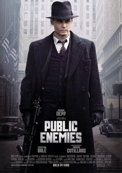 Public Enemies (mit Johnny Depp und Christian Bale)