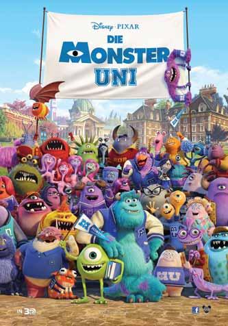 Cineclub - Filmkritik: Die Monster Uni