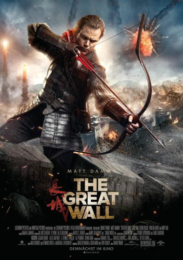 The Great Wall (mit Matt Damon und Tian Jing)