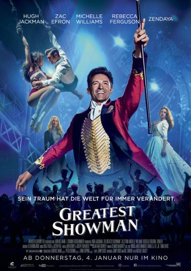 Greatest Showman (mit Hugh Jackman)