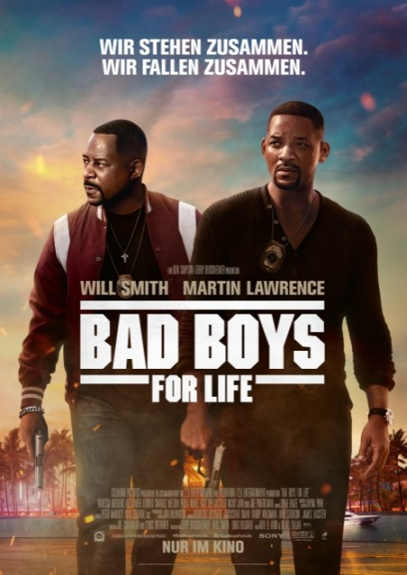 Bad Boys for Life (mit Will Smith und Martin Lawrence)