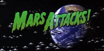 Mars Attacks (mit Jack Nicholson, Glenn Close und Pierce Brosnan)