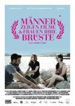 Männer zeigen Filme und Frauen ihre Brüste